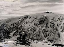 Vosges Hohneck Gaschney - 2 photos originales argentique, Camille Hugel - 1945