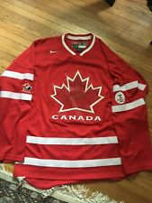 Team Canada - Vancouver 2010 Olympics Nike Men's Ice Hockey Jersey Red
