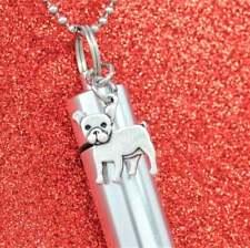 French Bulldog Ashes Holder Necklace || Dog Keepsake || Frenchie Memorial Urn