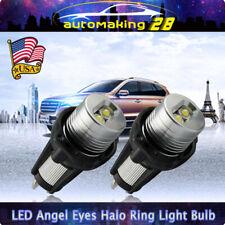 2x LED Angel Eye Halo Ring Marker Light Bulb 6W for BMW E90 E91 Wih Error Free
