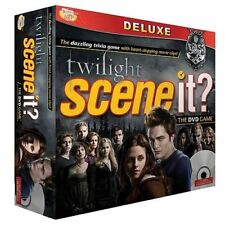Scene It Twilight Deluxe Edition- The DVD Game Screen Life Games-NEW