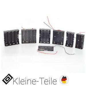 18650 Batteriehalter Gehäuse Case für 1x/2x/3x/4x Li-ion Zellen Akkus mit Kabel