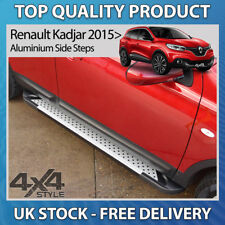 RENAULT KADJAR 2015+ ALUMINIUM RUFFORD STYLISH SIDE STEP BARS RUNNING BOARDS