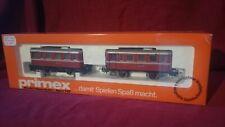 2 pieces Marklin Primex Schienenbus Beiwagen Tram 3018 AC HO Railbus Sidecar