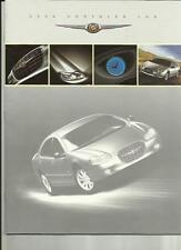 CHRYSLER LHS (CANADIAN MARKET) CAR BROCHURE 2000