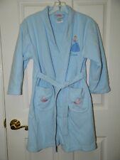 DISNEY PRINCESS girls Blue CINDERELLA ROBE* 8 10
