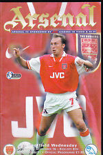 1996/97 ARSENAL V SHEFFIELD WEDNESDAY 16-09-1996 Premiership
