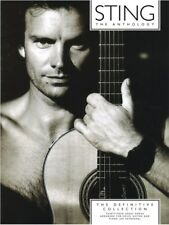 Play Sting Anthology The Definitive Collection Police Pop Songs Piano MUSIC BOOK