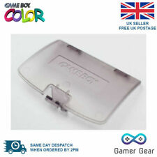 Nintendo Game Boy Color Colour GBC Battery Cover Gameboy clear purple