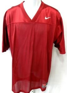 Nike Blank Football Jersey Burgundy Youth