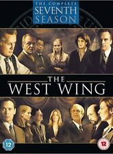The West Wing - Complete Season 7 DVD 2001 Martin Sheen, Rob Lowe, Jason Ensler