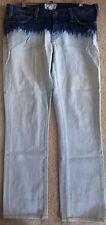 CURRENT ELLIOTT Straight Leg Cropped Ankle Jeans Acid Tie Dye Size 28 10