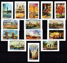 "USSR - ""London Views"" Matchbox Labels"