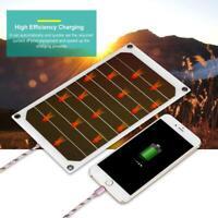 Pro 5V 10W Compatto Solare Pannello USB Caricabatterie IP64 Per Telefono Tablet