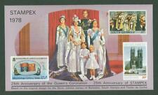 Block H38 Special sheet 1978 British Commonwealth 25 yrs Coronation