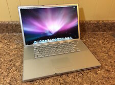 "Apple 17"" PowerBook G4 1.67GHz - Best CPU, w/160GB HDD, Good Battery, Nice Cond!"