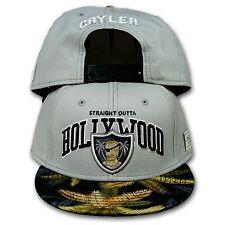 Original cayler & Sons SnapBack cap hollywood gris/negro