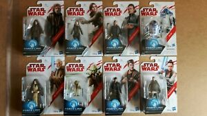 """Star Wars The Last Jedi Complete Wave 2 3.75"""" Force Link Action Figures New"""