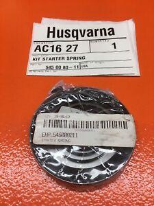 HUSQVARNA POULAN BV 200 1650 1800 2000 BC 2500 3150 SPRING 545008011 NEW OEM B75