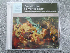 DANIEL HOPE ON MENDELSSOHN - COLLECTOR'S EDITION - CD - ALBUM - (NEW SEALED)