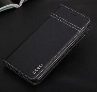 Véritable cuir Luxe Megnetic Étui Couvrir HOUSSE pour Samsung Galaxy S8 Note 8 5