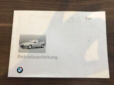 BMW E36 Compact Kompakt Bedienungsanleitung 316i 01 40 9 788 050