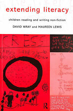 Extending Literacy: Children Reading and Writing Non-fiction by Lewis, Maureen