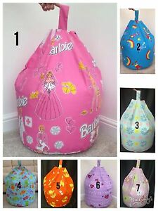 Children's / Toddler Character Filled Beanbag Kids Bean Bag Beenie Bedroom