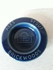 Vintage Brewery Brickwoods Ales Stouts Blue Ash Tray Hancock Corfield and Waller