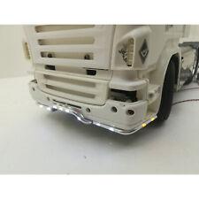 Para 1:14 Tamiya Scania 620 56323 730 Aluminio Parachoques Delantero Luz Tractor ligero