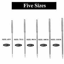 50 needles Sewing Machine Needles, Universal Regular Point for Singers