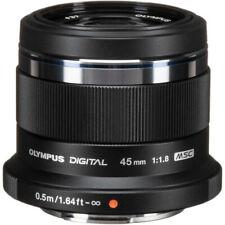 Olympus M.Zuiko Digital 45mm f/1.8 Lens (Black)