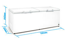 BRAND NEW  CHEST FREEZER 1250LT LxWxH: 2300x930x945mm Temp Range:+2℃ ~ -18