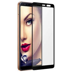 Pellicola salvaschermo di vetro per Samsung Galaxy A7 2018 (A750 / 6.0'') - nero