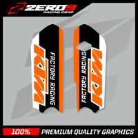 KTM SX 85 2013 - 2017 LOWER FORK DECAL MOTOCROSS GRAPHICS MX GRAPHICS FACTORY