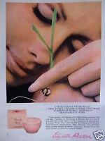 PUBLICITÉ 1968 ELIZABETH ARDEN BEAUTY SLEEP - ADVERTISING