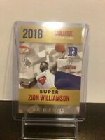 ZION WILLIAMSON ROOKIE CARD - SUPERMAN CARD - ONLY 2000 MADE - GEM MINT