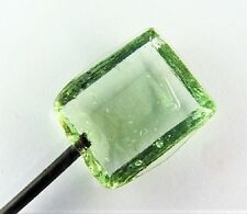 GORGEOUS PANELED GLASS HATPIN