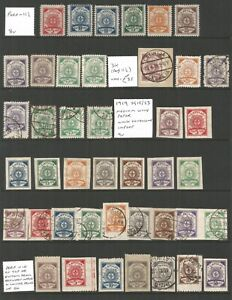 Latvia, mint and used selection ,lot 16