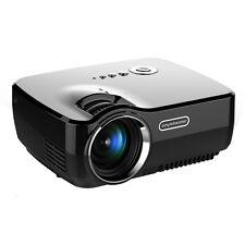 GP70UP 1920x1080P mini projecteur Cinéma maison HD USB Pr Jeu Vidéo écran