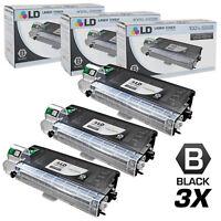 Compatible Sharp AL100TD Set of 3 Black Laser Toner Cartridges