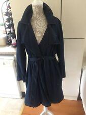 BNWT Marks & Spencer denim wrap jacket coat 18