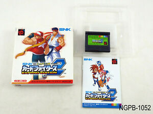 SNK vs Capcom Card Fighters 2 Expand Edition Neo Geo Pocket JP Import US Seller