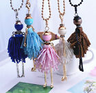 2016 Fashion Jewelry ! Doll Necklace Pendants Charms Women Crystal Beads DIy