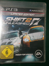 Need for Speed: SHIFT 2 Unleashed - (limited edition) (Sony Playstation 3, 2011)