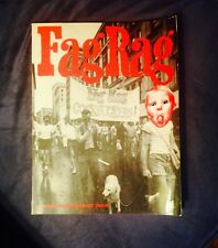 FAG RAG -12th Anniversary Issue- MEGA RARE book gay interest LGBT sex lit poetry