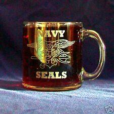 US Navy Seals 13oz etched coffee mug