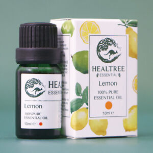 HEALTREE Lemon Pure Essential Oil 10ml, 100% Natural Australian Owned and Made