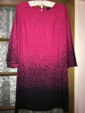 Fearne Cotton Pink Black dress Size 12