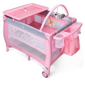 Portable Mini Cribs For Sale Ebay